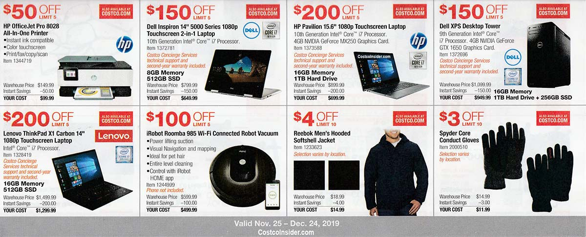 Costco December 2019 Coupon Book Page 10