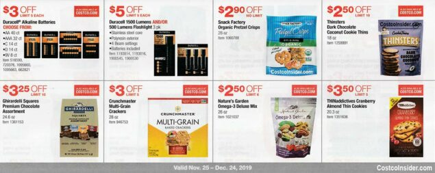 Costco December 2019 Coupon Book Page 14