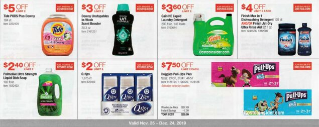 Costco December 2019 Coupon Book Page 16