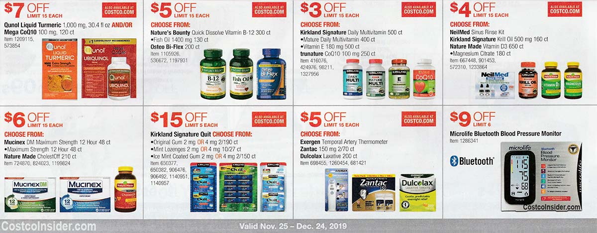 Costco December 2019 Coupon Book Page 18