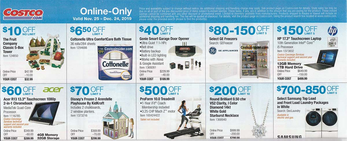 Costco December 2019 Coupon Book Page 19