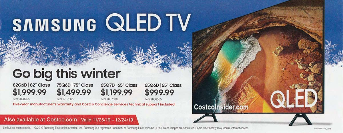 Costco December 2019 Coupon Book Page 3