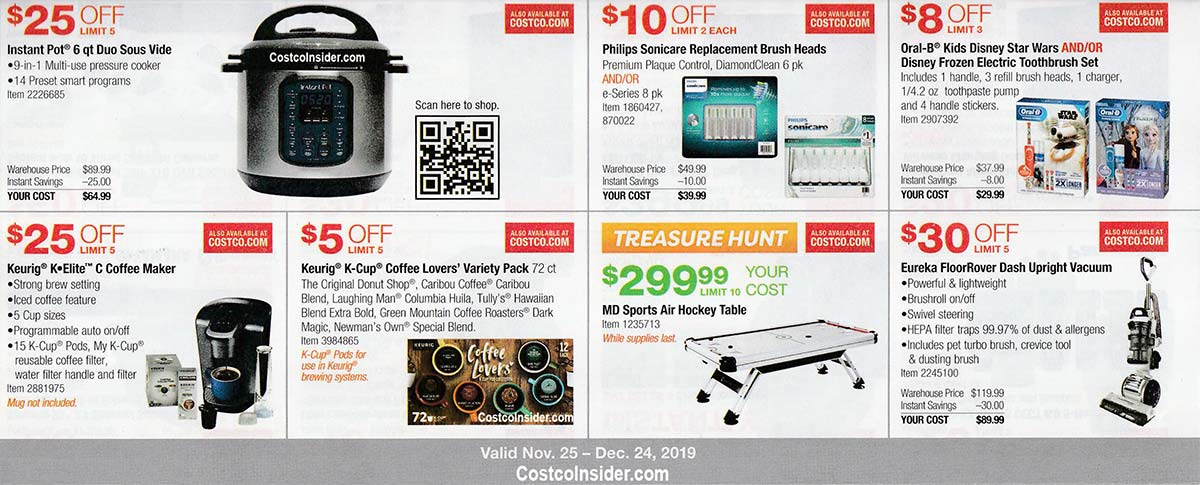 Costco December 2019 Coupon Book Page 8
