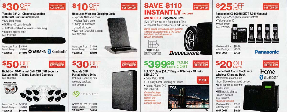 Costco December 2019 Coupon Book Page 9