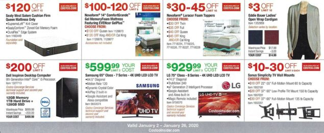 Costco January 2020 Coupon Book Page 10
