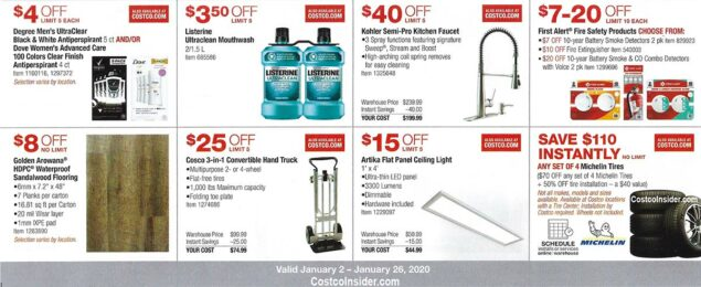 Costco January 2020 Coupon Book Page 12