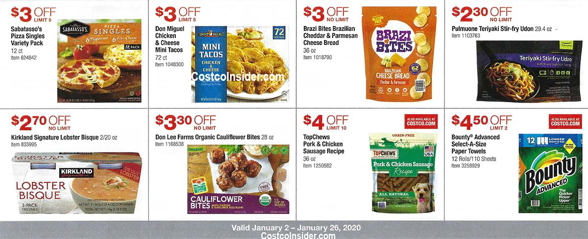 Costco January 2020 Coupon Book Page 16