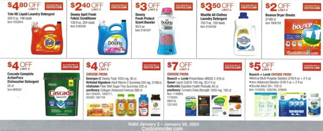 Costco January 2020 Coupon Book Page 18