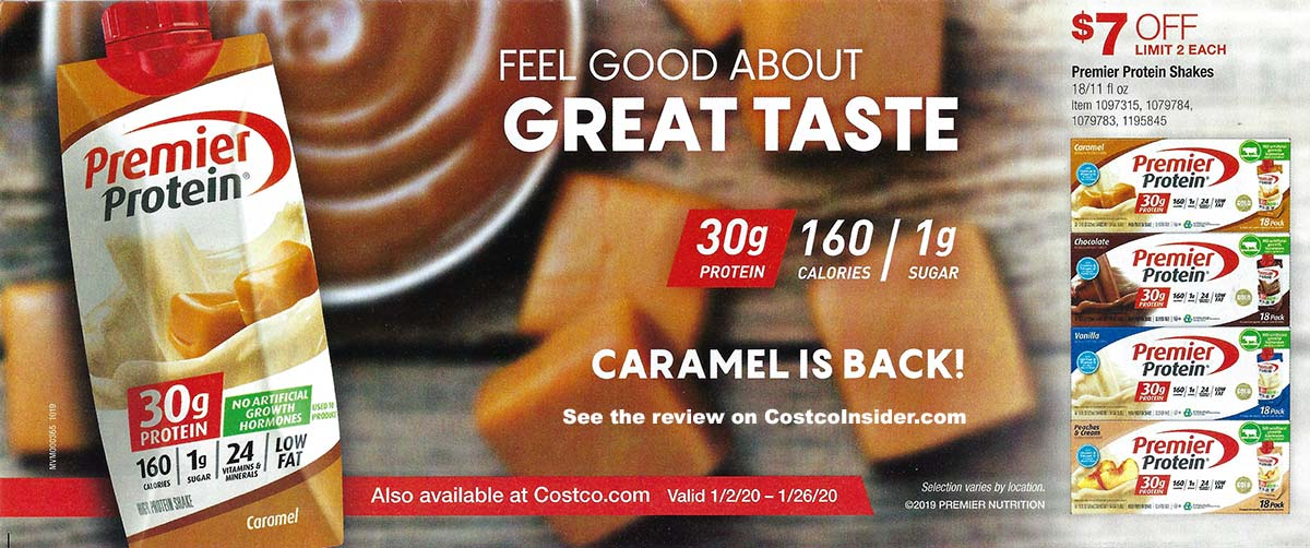 Costco January 2020 Coupon Book Page 2