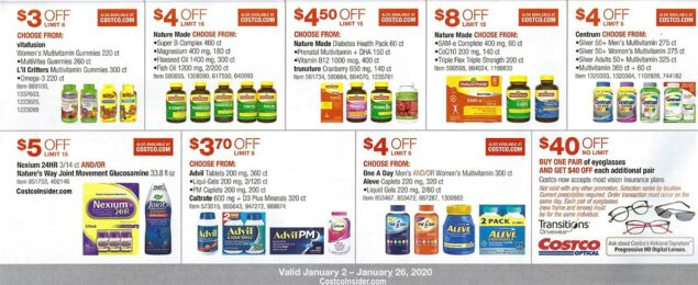 Costco January 2020 Coupon Book Page 20