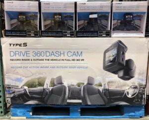 Type S 360 Dash Cam Display