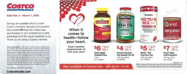 Costco February 2020 Coupon Book Page 1