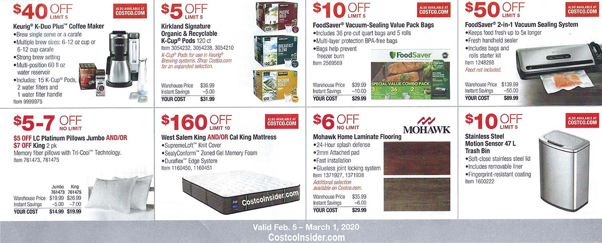 Costco February 2020 Coupon Book Page 10