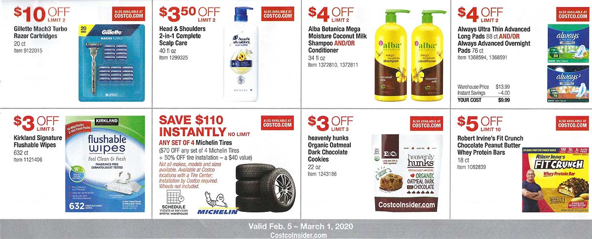 Costco February 2020 Coupon Book Page 12
