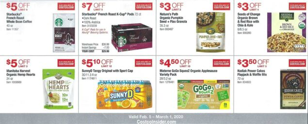 Costco February 2020 Coupon Book Page 14