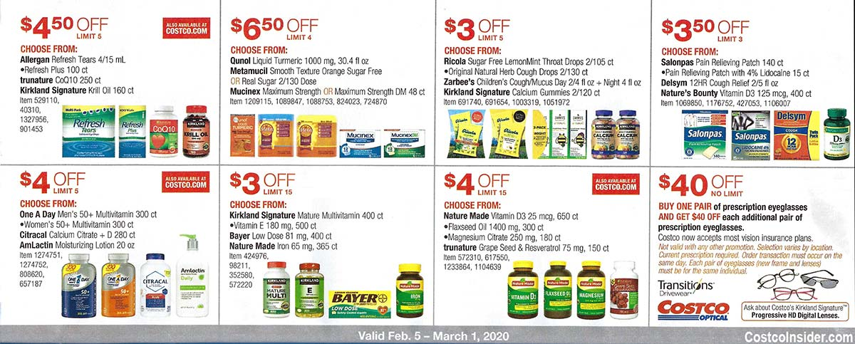 Costco February 2020 Coupon Book Page 19