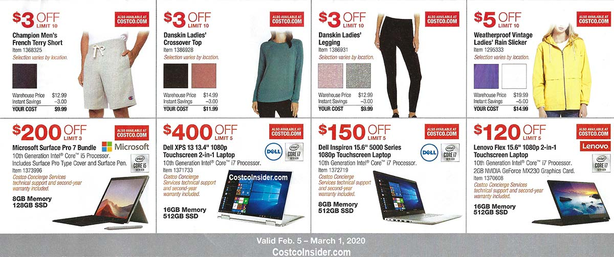 Costco February 2020 Coupon Book Page 8