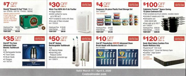 Costco March 2020 Coupon Book Page 14