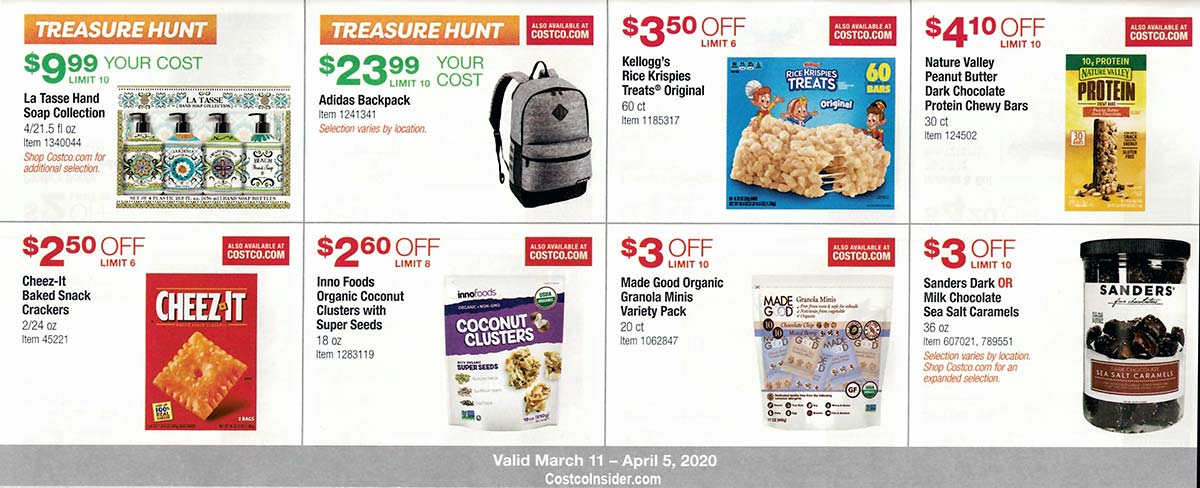 Costco March 2020 Coupon Book Page 16