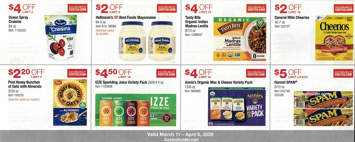 Costco March 2020 Coupon Book Page 18