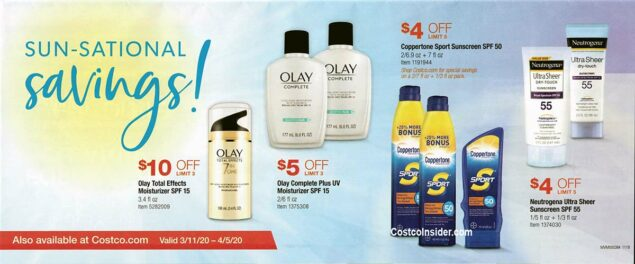 Costco March 2020 Coupon Book Page 2