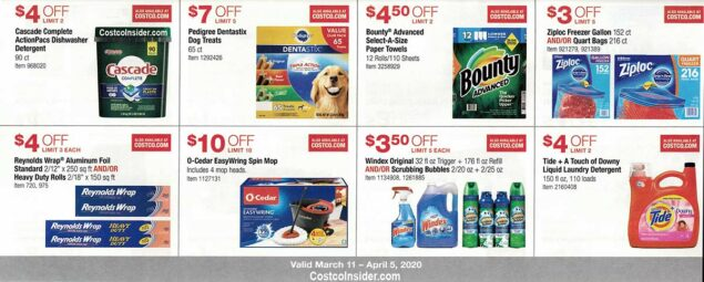Costco March 2020 Coupon Book Page 20