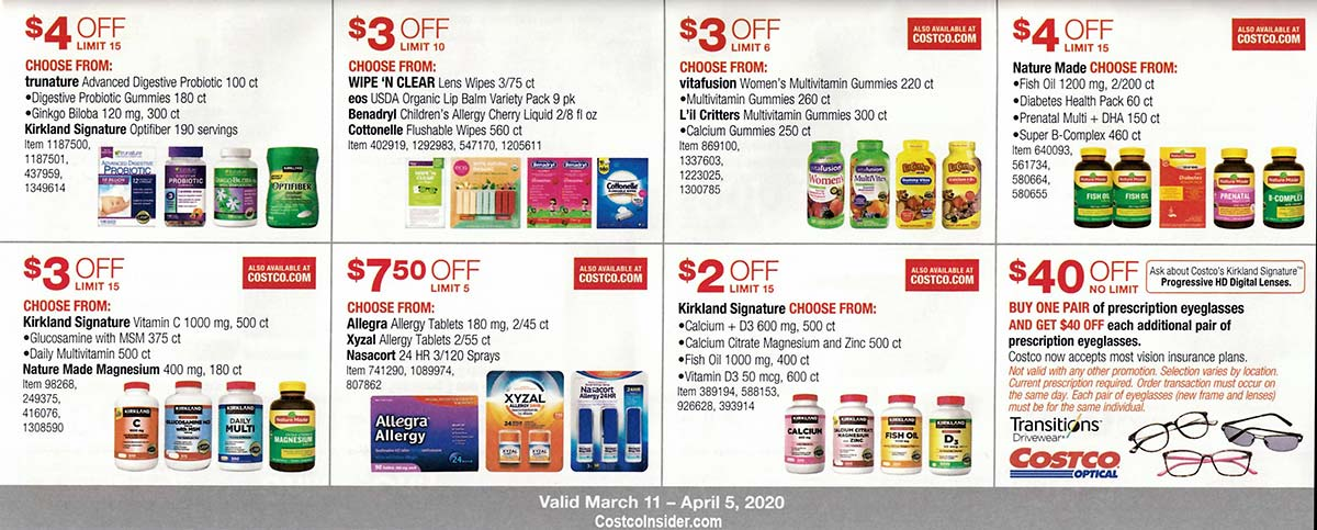 Costco March 2020 Coupon Book Page 24