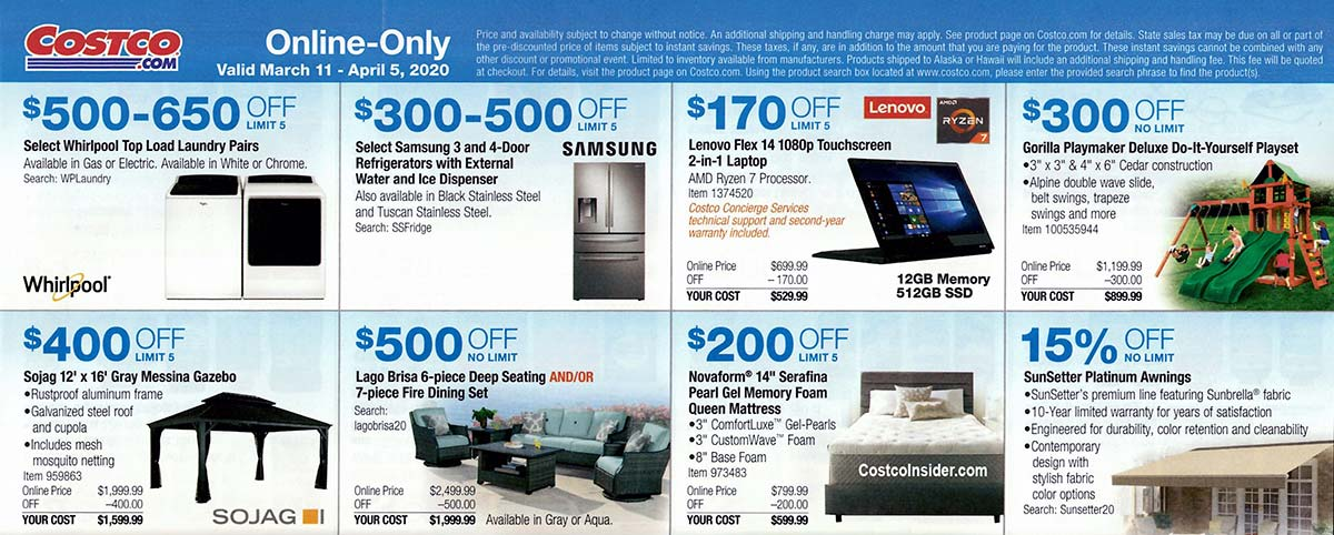 Costco March 2020 Coupon Book Page 25