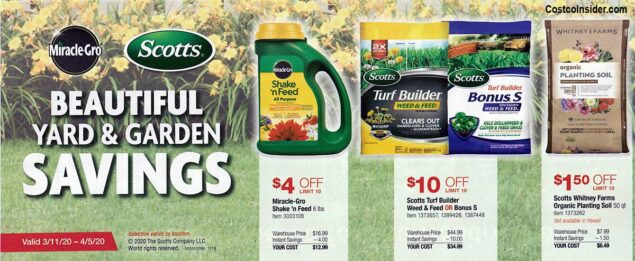 Costco March 2020 Coupon Book Page 4