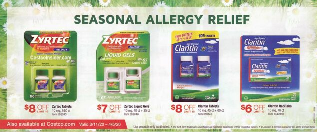 Costco March 2020 Coupon Book Page 9