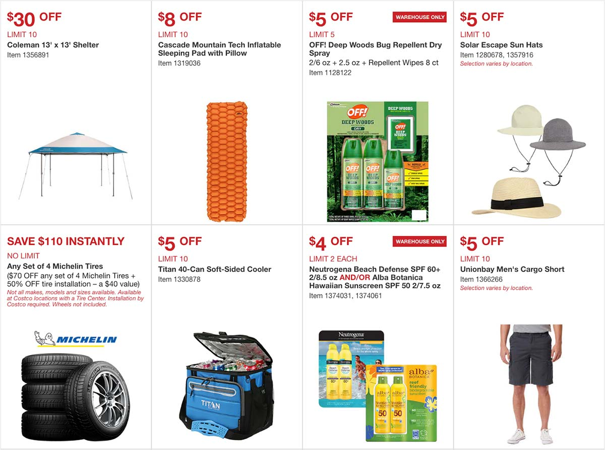 Costco April 2020 Coupon Book Page 1