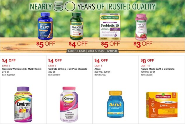 Costco April 2020 Coupon Book Page 11