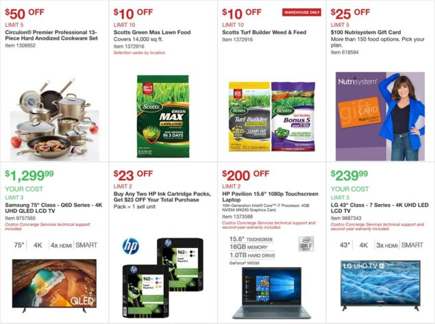 Costco April 2020 Coupon Book Page 3