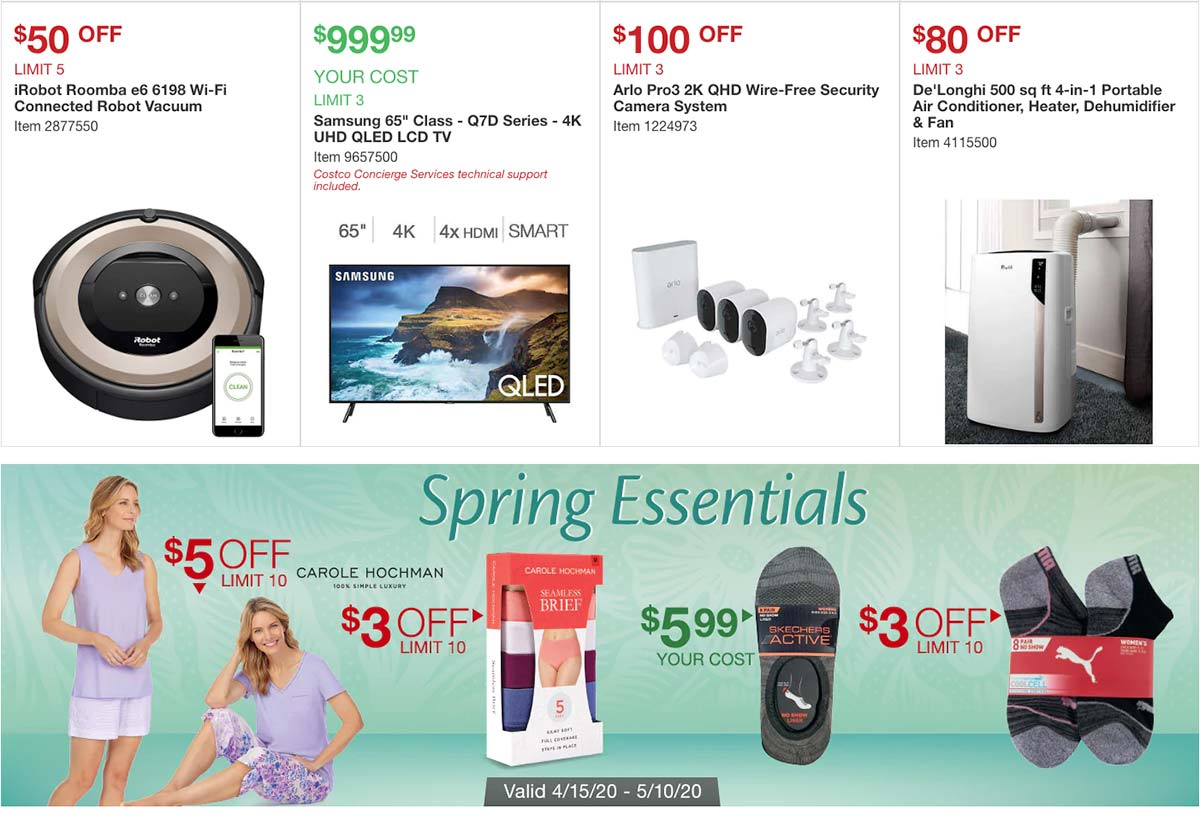 Costco April 2020 Coupon Book Page 4