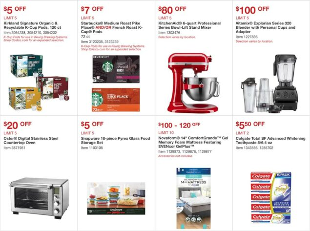 Costco April 2020 Coupon Book Page 6