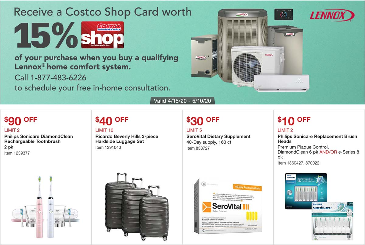 Costco April 2020 Coupon Book Page 7