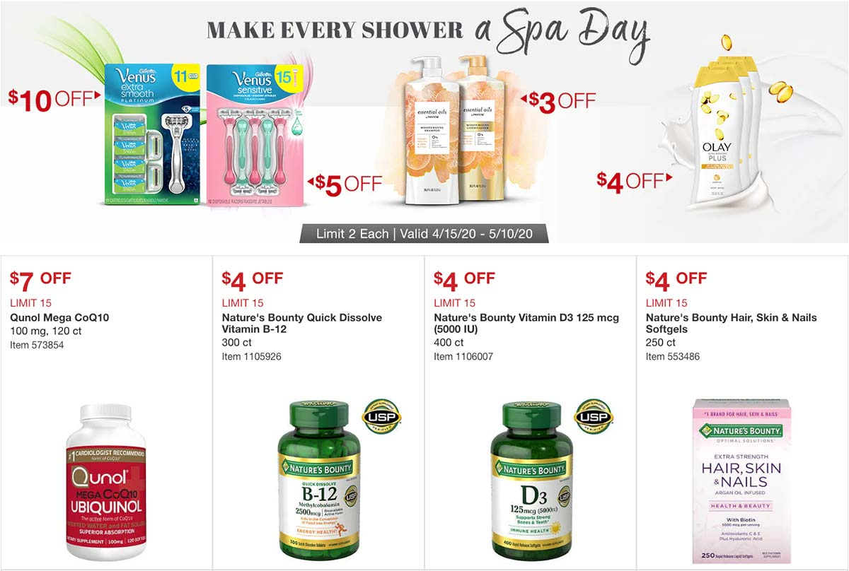 Costco April 2020 Coupon Book Page 9