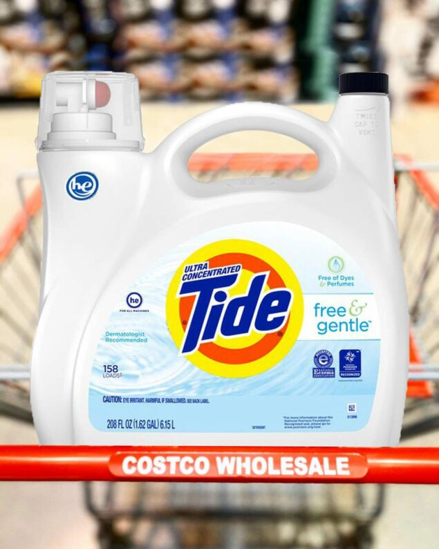 Tide Free And Gentle Liquid Laundry Detergent Review Costco Insider