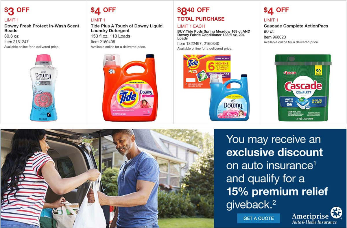 Costco May 2020 Coupon Book Page 10