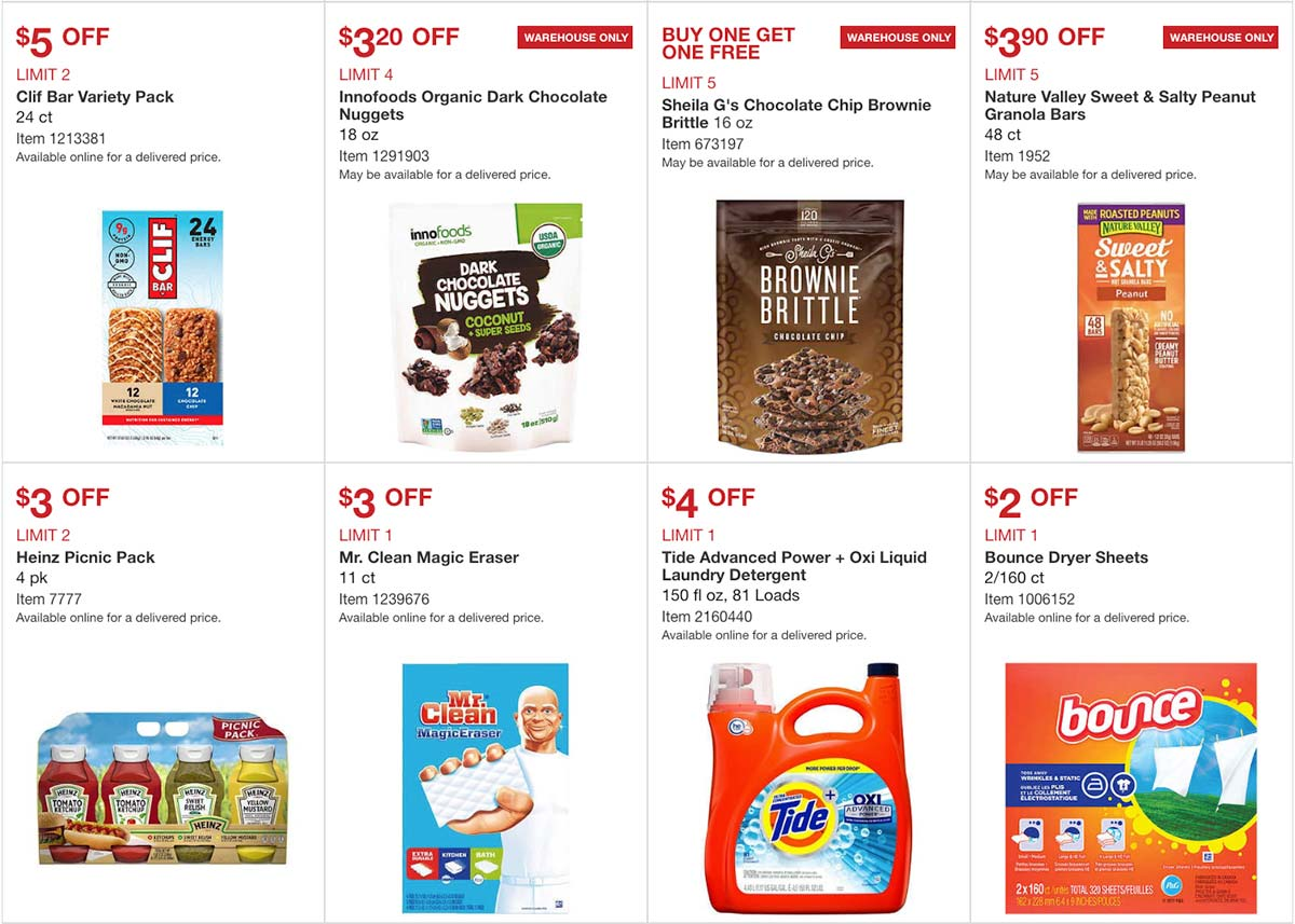 Costco May 2020 Coupon Book Page 9