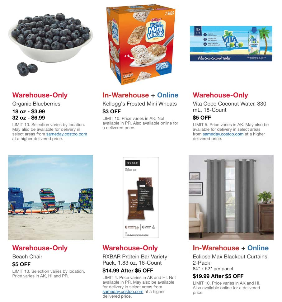 Costco May 2020 Hot Buys Page 1