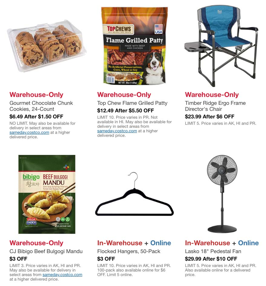 Costco May 2020 Hot Buys Page 2