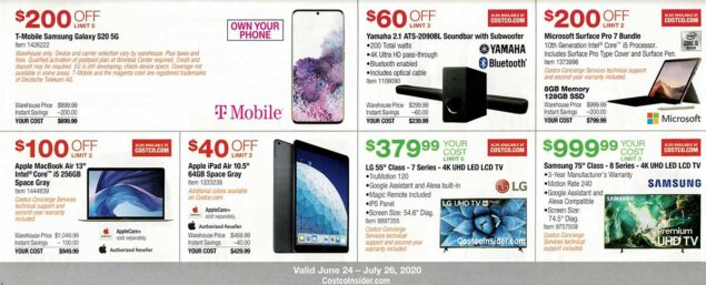 Costco July 2020 Coupon Book Page 10