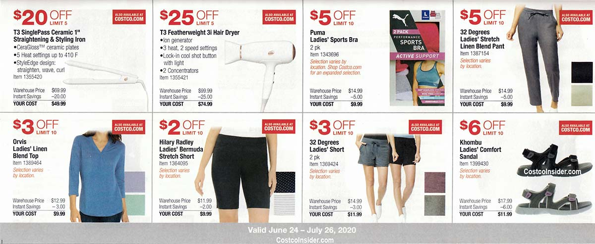 Costco July 2020 Coupon Book Page 12