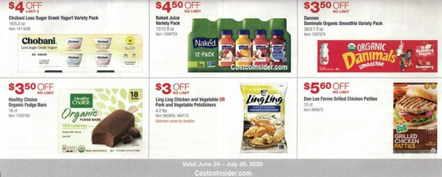 Costco July 2020 Coupon Book Page 20