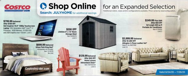 Costco July 2020 Coupon Book Page 23