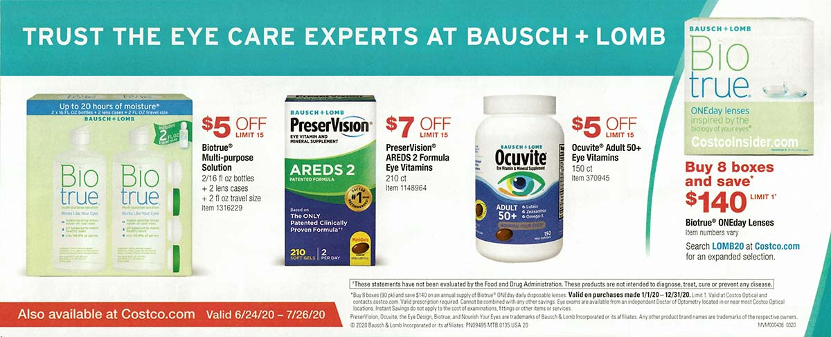 Costco July 2020 Coupon Book Page 7