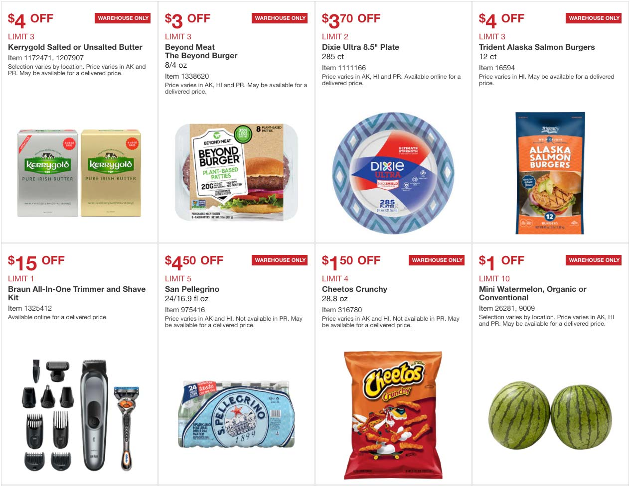 June 2020 Hot Buys Coupons Page 1