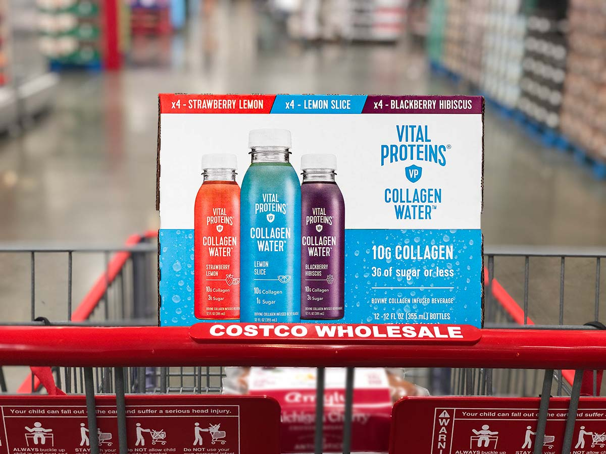 Vital Proteins Collagen Water in Shopping Cart