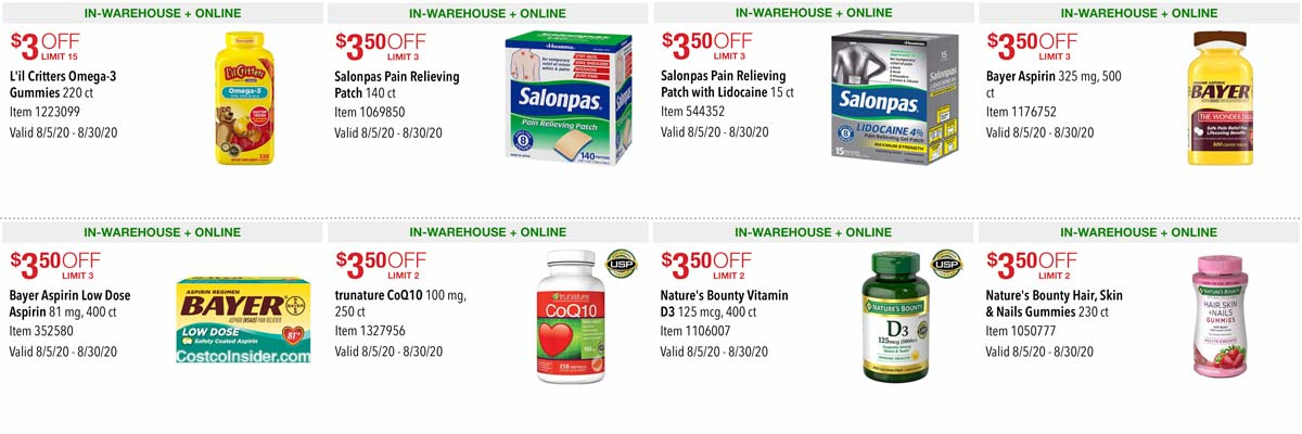 Costco August 2020 Coupon Book Page 11